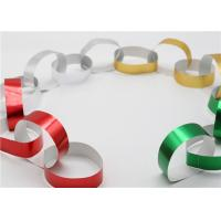 Handy Gummed Wedding Paper Chains Multi Color Available Eco - Friendly Material