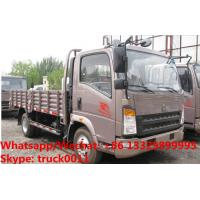 Quality Customized SINO TRUK HOWO light duty 4*2 RHD 90hp cargo truck for Indonesia, Factory sale whole price cargo van truck for sale