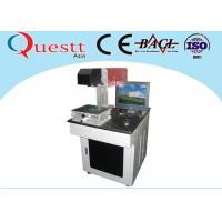 Buy cheap 10W CO2 Laser Marking Machine for Plastic Leather Fabric Air cooled from wholesalers