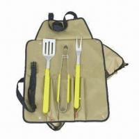 Quality Barbecue tool kit with stainless steel blade for sale