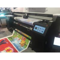 Buy 1.8M Digital Sublimation Printing Machine / Flag Printer Machine at wholesale prices