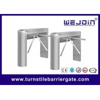 Quality RFID Card Reader Security Tripod Access Control Turnstile Gate 1 Year Warranty for sale