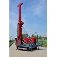 Buy HWL Drilling Depth 1000m  Wheel Trailer Hydraulic Core Drilling Machine at wholesale prices
