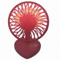 Quality USB Fan with Words Showing on Fan Page, Sized 130 x 110 x 230mm and Nice Promotional Gifts for sale