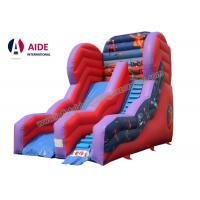 Quality Inflatable Slide For Pool Inflatable Sports Equipment Rainbow PVC Customized for sale