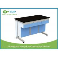 Quality C Frame University Laboratory Furniture Biology Lab Tables For Preparation Room for sale
