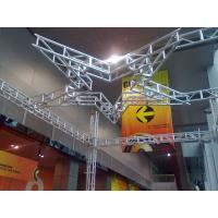 Quality Silver  Square 5 Stars Stage Lighting Truss 300 x 300 For Performance for sale