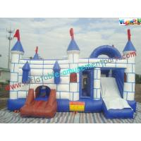 Quality 120 x 80 x 80CM  Inflatable Bouncer Slide PVC Tarpualin , Water - Proof Kids Bounce House for sale