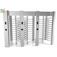 Quality Access Control Barriers Automatic Turnstile Security Full Height Turnstile Gate for sale
