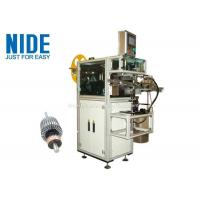 Quality Rotor Insulation Paper Insertion Machine With Low Pressure Alarm Function for sale