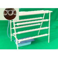 Quality Commercial Soilless Cultivation , NFT Hydroponic PVC Channel High Safety for sale