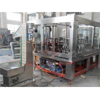Quality 3 In 1 Automatic Glass Bottle Filling Machine Mango Puree Basil Seed Capping for sale