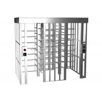 Quality 304 Stainless Steel Full Height Turnstiles Access Control Turnstile Automatic for sale
