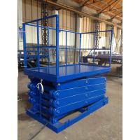 Quality 320 Kg Load Scissor Lift Ladder , Electric Scissor Lift Platform 1750 × 1200 for sale