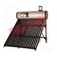 Quality 0.5 Bar High Powered Pre Heated Solar Water Heater Rooftop With Feeding Tank for sale
