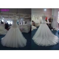 China Customized Long Dramatic Mermaid Style Wedding Dress For Bridal Multi Colors for sale
