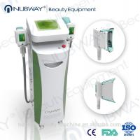 Quality Cryo Lipo Cooling Fat Freezing Machine with RF Cavitation Handles for sale
