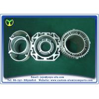 China Silver Aluminum Extrusion Profiles Aluminum Motor Housing And Casing on sale