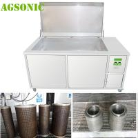 Buy cheap Filter Ultrasonic Cleaner, Filter Washing / Cleaning Machine to Remove Oil  Dust Rust Carbon Dirt from wholesalers