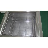 Quality Double Walled And Insulated Parts Soaking Tank With Lift Degreaser Cleaning for sale