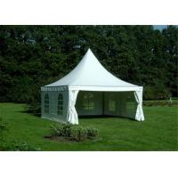 Quality Heavy Duty Clearspan Marquee Pagoda White Event Tent For 50 People for sale