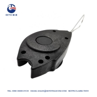 Quality Standard FTTH Accessories ABS Fiber Drop Wire Clamp for sale