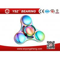 Quality R188 Bearing Rainbow Type Hand Spinner Fidget Toy With CE Certification for sale