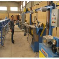 Buy cheap Single Layer Wire Extruder Machine Teflon Cable Manufacturing Equipment from wholesalers
