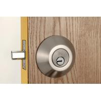 Quality Stainless Steel Metal Sliding Door Locks Single Cylinder Deadbolt 3 Same Brass Keys for sale