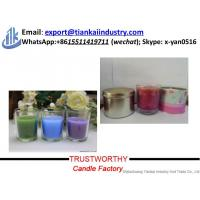 Buy Wholesale Scented Candle decorative glass jar candle holder for sale at wholesale prices