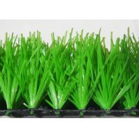 Quality Green High Density Football Artificial Grass Sand And Rubber Infill Custom for sale