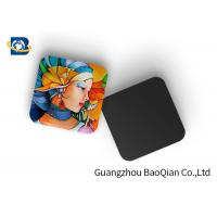 Quality Mini 3D Personalised Tea Coasters / Cup Coasters , Custom Square Coasters Printing Placemat for sale