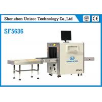 Quality SF5636 Airport Security Luggage Scanner , UNIQSCAN X Ray Security Equipment 40AWG for sale