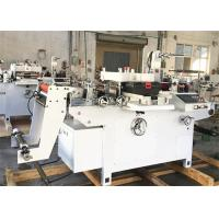 China Polyester Film Label Die Cutting Machine Single Phase Inverter Control Main Motor on sale