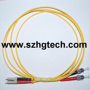 Quality LC/ST MM Duplex Fiber Optic Patch Cord Manufacturer for sale