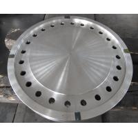 Quality Forged Disc Tube Sheet Finish Machined For Heat Exchanger , Stainless Steel Brake Discs for sale