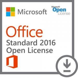 Multiple Office Software Microsoft Office Standard 2016 - Open License