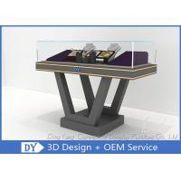 Buy cheap Beautiful Firm Structure Wooden Jewelry Display Cases Counter With Lock from wholesalers