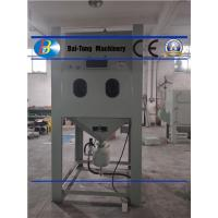 China Large Volume Output Pressure Blast Cabinet With Heavy Duty Mixing Valves on sale