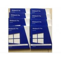 Quality English / French Windows 8.1 Pro Retail Box 64bit 32bit Product Key DVD for sale