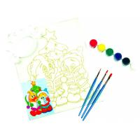 Quality Personalised Paint Art Set , Simple Watercolour Paint Set With Plastic Palette for sale