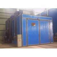 Quality Single / Double Gun Sandblasting Room With Sand Blasting Pot Casting Parts Cleaning for sale