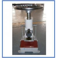 Quality 25mm Rubber Testing Machine , Plastic Leather Manual Sample Cutter for sale