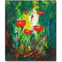 Quality flower painting modern art painting office wall decor for sale