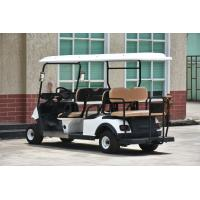 Buy Luxury Driving Cabin Club Car 6 Passenger Golf Cart With 2 External Rearview at wholesale prices