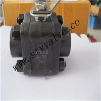 Quality 3pc Forged Steel Ball Valve 800lb ,A105,DN15-DN100,NPT/BSPT/SW/Butt-Weld End for sale