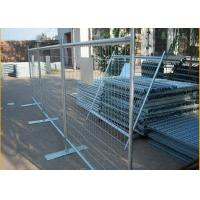 Quality 1800mm Height X 2400mm Width Temp Fence Panels Od 32 Pipes for sale