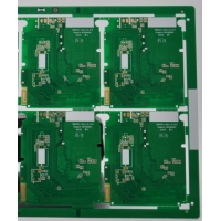 Quality 6 mil 3 Layer Immersion Gold Multi Layer Circuit Board For UPS Device for sale