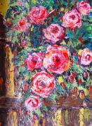 Quality flower painting modern art painting hotel wall decor for sale