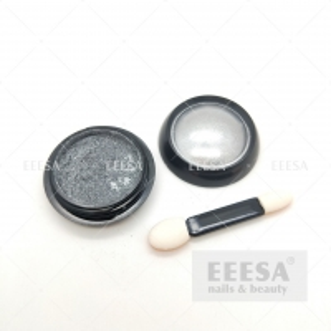 Quality Nails Beauty Silver Colour Effect Mirror Chrome Nail Art Pigment Powder for sale